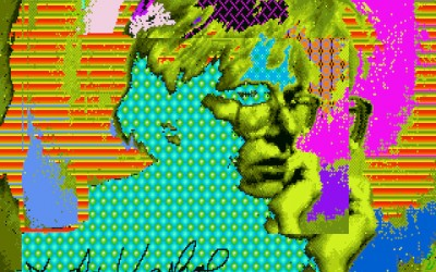 Fifteen Megabytes of Fame? Looking at Andy Warhol's Computer Art